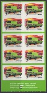 AUSTRALIA SGSB211(2681a) 2006 DRIVING THROUGH THE YEARS $5 SELF ADHESIVES MNH