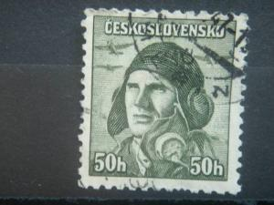 CZECHOSLOVAKIA, 1945, used 50h, Armed Forces, Scott 278