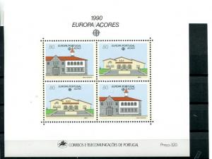 Portugal Azores  Europa  1990  Mint  VF NH   - Lakeshore Philatelics