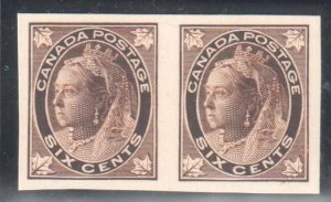 Canada #71P MINT XF Proof Pair on Card C$450,00