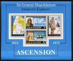 Ascension 1972 50th Anniversary of Shackleton\'s Death m/...