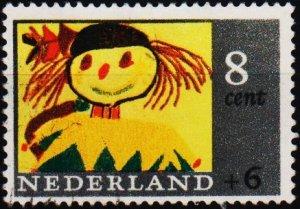 Netherlands. 1965 8c+6c S.G.1001 Fine Used