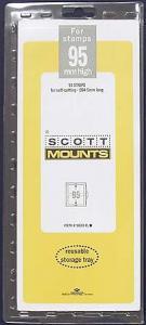 Scott Mounts Clear,95 STRIP 265 Clear  (pkg 10) (01033C)