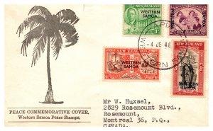 Samoa, Worldwide First Day Cover
