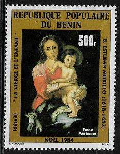 Benin #C327 MNH Stamp - Painting