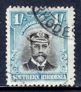 Southern Rhodesia - Scott #10 - Used - Appears CTO - SCV $9.00
