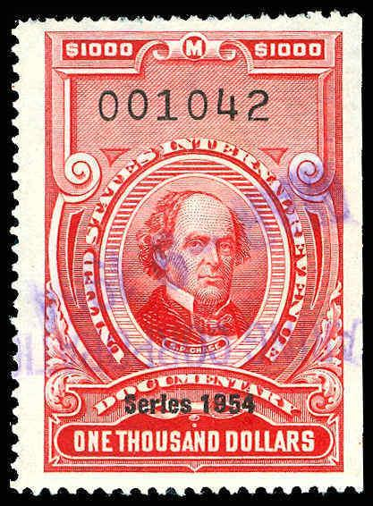 U.S. REV. DATED REDS R684  Used (ID # 84756)