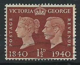 GB GVI  SG 481  Fine Used