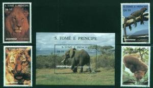 St. Thomas Greenpeace Wildlife Set 1237-41