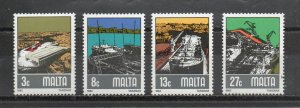 Malta 608-611 MNH