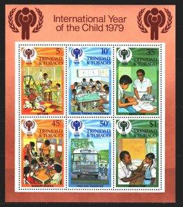 Trinidad and Tobago. 1979. BL26. UNICEF children. MNH.
