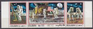 1969 Dubai 362-64strip Apollo 11 5,00 €
