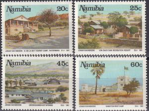 Namibia #702-5 MNH CV $2.80 Z11