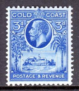 Gold Coast - Scott #103 - MH - Some perf toning - SCV $3.00