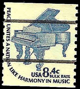 1615Cd USED PRE-CANSELED PIANO / HipStamp