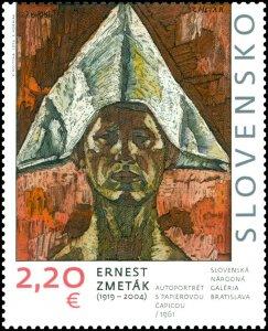 Slovakia Stamps - ART: Ernest Zmetak (1919 - 2004)