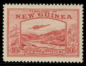 AUSTRALIA - New Guinea GVI SG224, 10s pink, LH MINT. Cat £600.