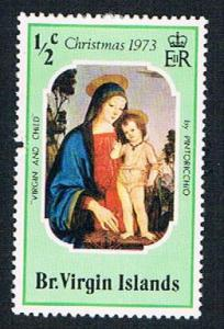 Virgin Islands 262 MHR Christmas 1973 (BP2648)