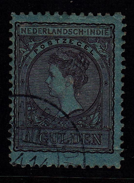 Netherlands Indies, #62, Used, CV $40.00