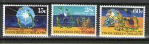 Cocos Islands 53-55 MNH