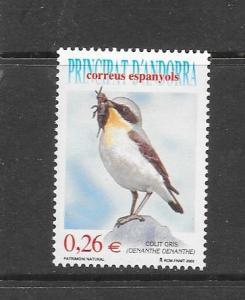 BIRDS - ANDORRA (SP) #291  LH
