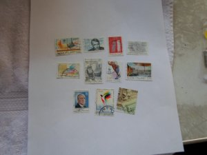 FINLAND STAMPS LOT OF 11 STAMPS IN MIXED CON.# 6
