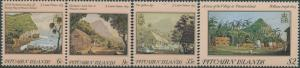 Pitcairn Islands 1985 SG264-267 19th Cent Paintings set MLH