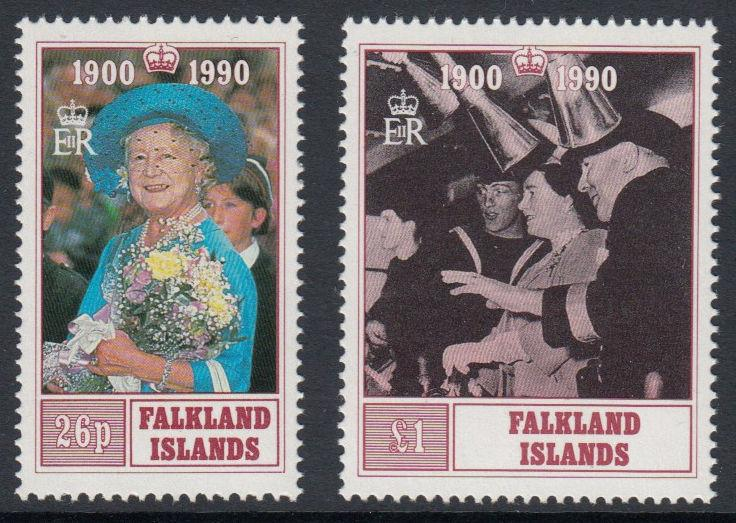 Falkland Islands - 1990 90th Birthday of the Queen Mother (MNH)