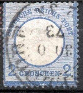 Germany 1872 #18 Mi 20 *USED* - Large Eagle