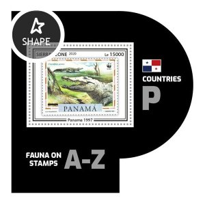 SIERRA LEONE - 2020 - Fauna on Stamps - Perf Souv Sheet #8 - Mint Never Hinged
