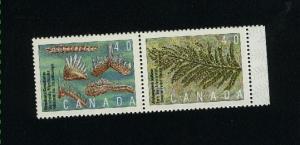 Canada #1306-07 Mint VF NH pair  PD