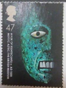 Great Britain Scott #2163 Mask of Xiuhtechumue