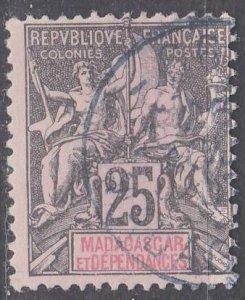 MADAGASKAR MADAGASCAR [1896] MiNr 0035 ( O/used )