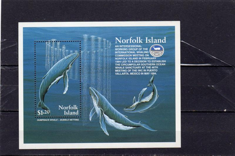 Norfolk Island Whaling Commission  MNH M/s