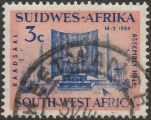 South West Africa, #297 Used, From 1964