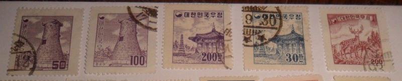 World Stamp lot -Korea