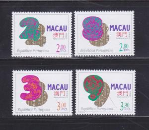 Macao 855-858 Set MNH Lucky Numbers
