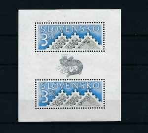 D151260 Slovakia S/S MNH Stamps on Stamps - Stamp Expo