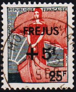 France. 1959 25f +5f S.G.1451 Fine Used