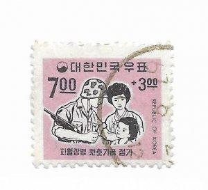 Korea #89 Used - Stamp CAT VALUE $1.25