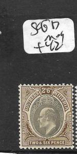 SOUTHERN NIGERIA  (PP1209B) KE 2/6  SG 17  MOG