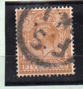 Great Britain #166 Used CV $5.75