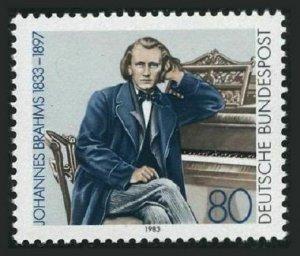 Germany 1394,MNH.Michel 1177. Johannes Brahms,composer,1983.