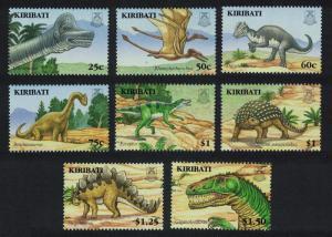 Kiribati Dinosaurs and Prehistoric Animals 8v SG#772-779 SC#894-901