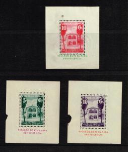 SPAIN STAMP Civil War War Stamp MH/OG MINI S/S STAMPS LOT