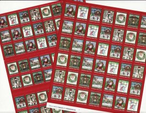 2018 U.S. Christmas Seals National Sheet Collection