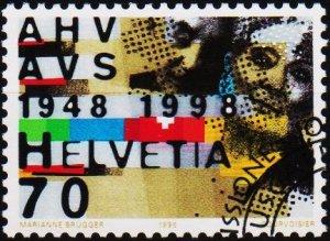Switzerland. 1998 70c. S.G.1375  Fine Used