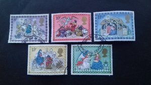 Great Britain 1979 Christmas Stamps Used