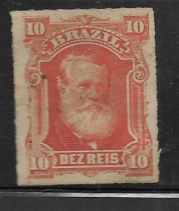 BRAZIL    68   USED 1878 ISSUE