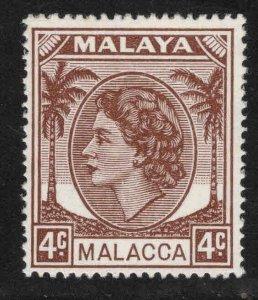 Malaya Malacca Scott 31 MH* stamps
